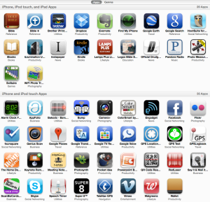 Current iPhone Apps